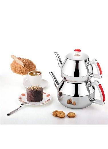 Hüma Mini Çaydanlık Kırmızı-Özkent
